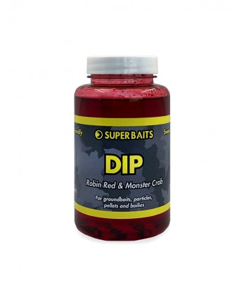 SUPERBAITS DIP ROBIN RED &...