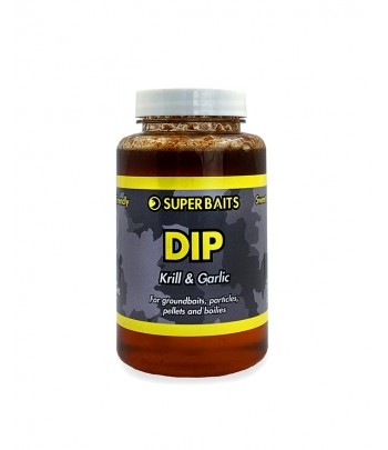 SUPERBAITS DIP 200ML KRILL...