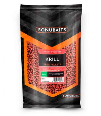 FEED PELLETS 4MM KRILL 900GR