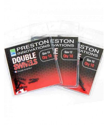 PRESTON DOUBLE SWIVELS