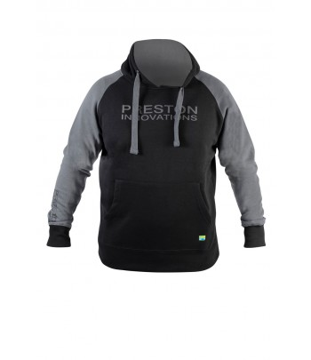 PRESTON BLACK PULLOWER HOODIE
