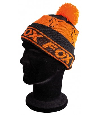 FOX BLACK/ORANGE LINED...