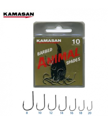 KAMASAN ANIMAL SPADES HOOK...