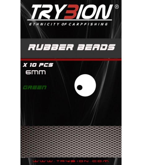 TRYBION RUBBER BEADS GREEN